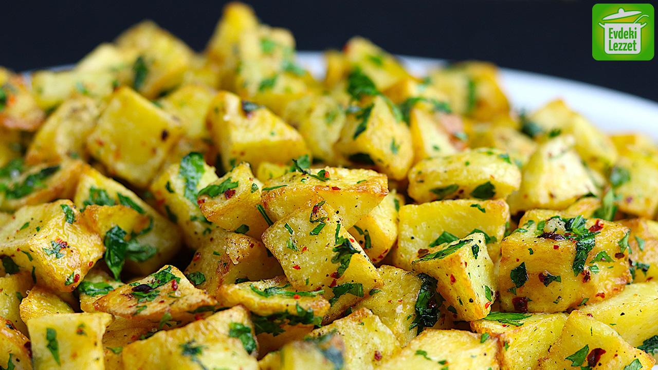 Sarımsaklı Patates Kızartması Tarifi